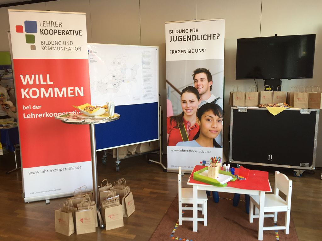 13. Familienmesse 2018: Stand der ASB Lehrerkooperative
